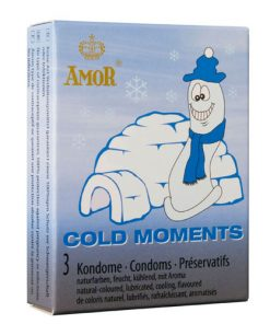 Prezervative Cold Moments ambalaj