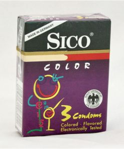 Prezervative colorate Sico Color