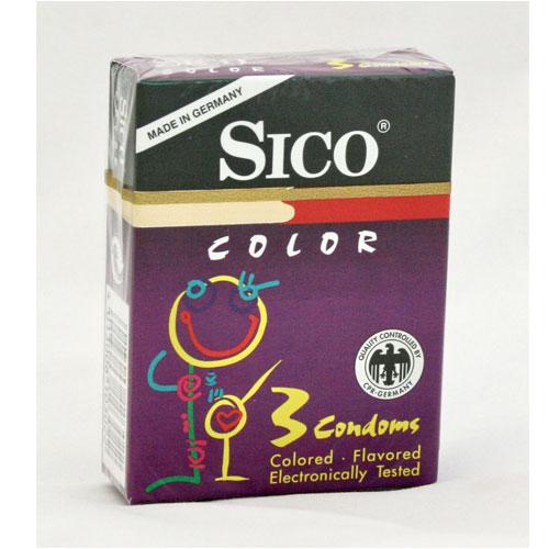 Prezervative colorate Sico Color