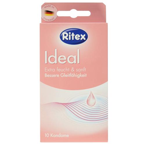 Prezervative Ritex Ideal roz lubrifiate