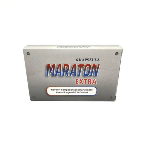 capsule pentru cresterea potentei Maraton Extra amblaj