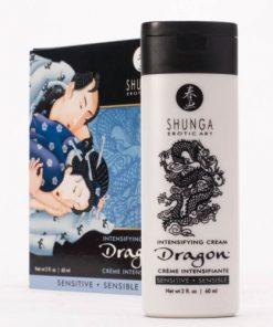 crema pentru erectie Dragon SENSITIVE Cream Shunga ambalaj