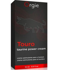 Crema pentru Erectie Touro Orgie ambalaj