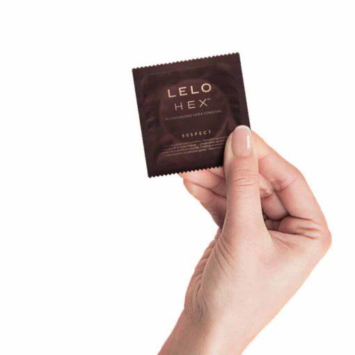 Prezervative XL HEX Respect Lelo